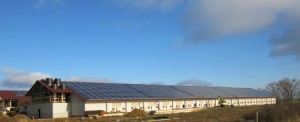 1MW Conergy rooftop installation on barn roofs in Uckerland, Germany_1