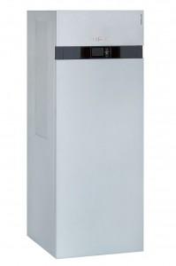 Mit der neuen Vitocal 200-A führt Viessmann eine kompakte Luft/Wasser-Wärmepumpe mit invertergeregeltem Verdichter für hohe Jahresarbeitszahlen in den Markt ein