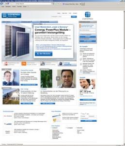 Conergy Online-Shop_Startseite