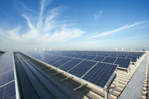 Conergy Solarkraftwerk Gewerbedach_1