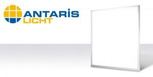 Lichtstark bei hoher Energieeffizienz und jetzt auch dimmbar – die neuen LED-Panels von ANTARIS (Bild: ANTARIS)