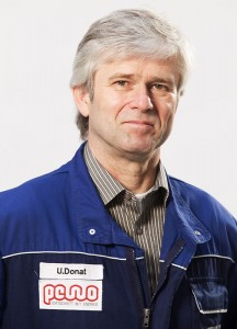Uwe Donat, Produktionsleiter bei PEWO Energietechnik GmbH in Elsterheide