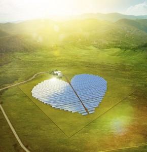 Die Solaranlage (artist's impression)