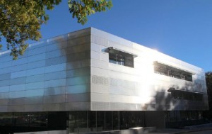 Der Neubau des Helmholtz-Instituts Ulm (Foto: Daniel Messling, HIU)