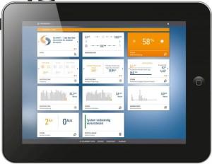 Das Energy Portal dient zur Steuerung des Solarwatt Energy Managers (Quelle: Solarwatt GmbH)
