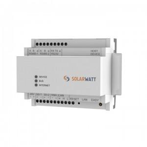 Der Solarwatt Energy Manager ist die Steuerungseinheit zur Überwachung und Regulierung der Energieströme (Quelle: Solarwatt GmbH)