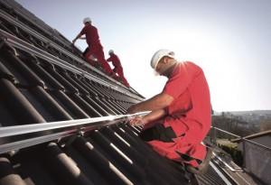 PV-Montage-Dach