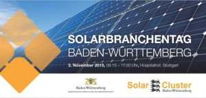 Der Solarbranchentag Baden-Württemberg (Foto: Solar Cluster Baden-Württemberg)