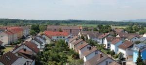 Der Ortsteil Oberdorf in Teningen mit dem neuen Wärmenetz (Foto: endura kommunal)