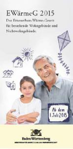 Umfassende Informationen zum EWärmeG für Wohn- und Nichtwohngebäude bietet eine neue Broschüre des Landesumweltministeriums (Foto: Umweltministerium Baden-Württemberg)
