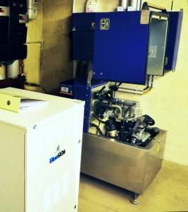 Strom und Wärme aus BHKW plus Brennstoffzelle
