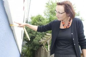 Gedämmte Fassade eines Wohnhauses (Foto: Zukunft Altbau)