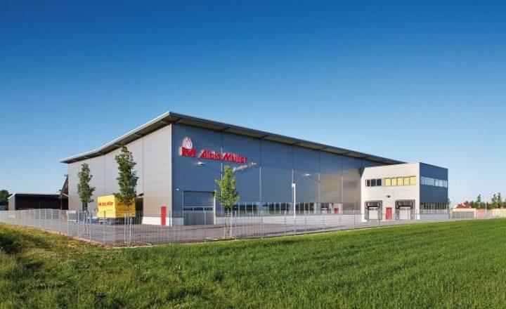 Produktionshalle der Alois Müller GmbH im Allgäu