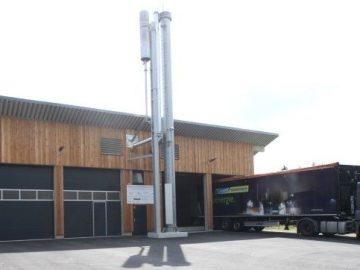 Satellitenheizkraftwerk auf Basis von Biomasse im Ortsteil Schönbrunn im oberfränkischen Wunsiedel (Bildquelle: SWW Wunsiedel GmbH)