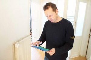 Heizung per Smartphone oder Tablet steuern