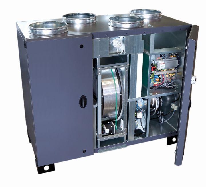 Kompakt und effizient – Rotationswärmetauscher von S P 7b4afce59cf4
