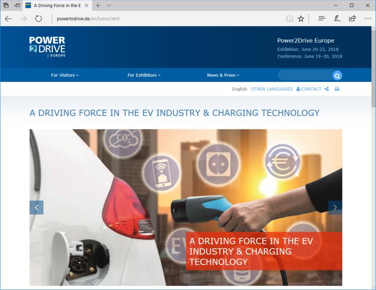 Power2Drive: Die Zukunft der Mobilität findet eine neue Plattform