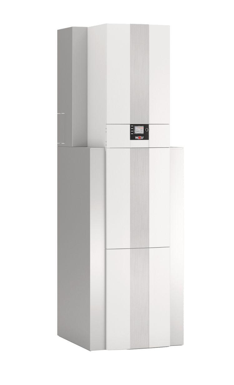 WOLF Wärmepumpen-Center – einfach, flexibel und modular zum Komplettsystem