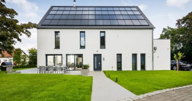 Sonnenhaus mit Smart Home-Technik
