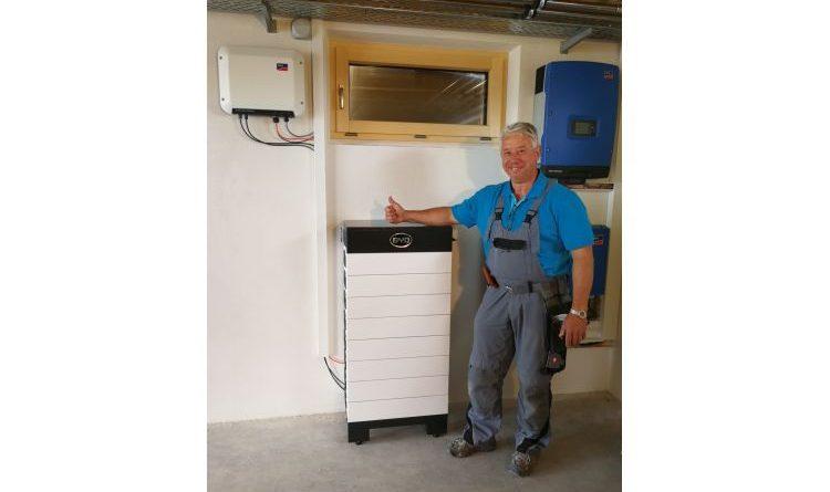 Anwender mit der BYD B-Box HV auf dem Weg zur Energieunabhängigkeit