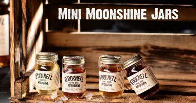 O'Donnell Moonshine präsentiert die Mini Moonshine Jars als Barhighlight