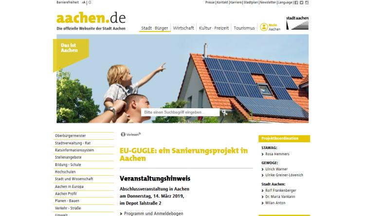 Aachen als grün-urbanes Tor zur nachhaltigen Energieversorgung