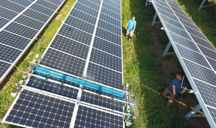 SolarPLUSCleaning optimiert Mehrerlös von Photovoltaikanlagen