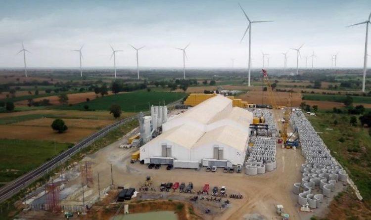 Weltweite Produktion von Hybridtürmen für Windkraftanlagen in deutscher Werksqualität