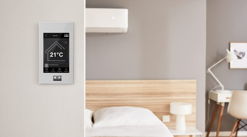 Regelung Smart-Control Touch – neu für Remko-Klimageräte