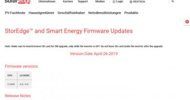SolarEdge-Wechselrichter erfüllen neue Netzanschlussbestimmungen für Stromerzeuger (RFG)