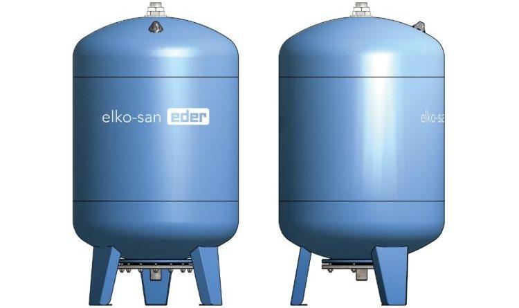 Expansionsgefäße für Sanitäranlagen