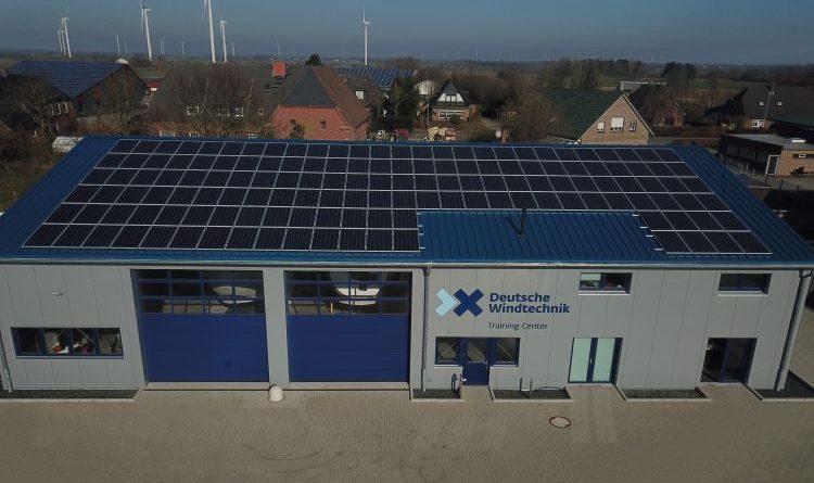 Sonnenstrom für die Deutsche Windtechnik