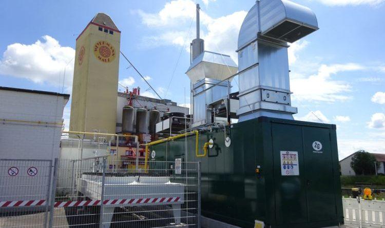 2G: Wasserstoff-BHKW der SW Haßfurt in Betrieb genommen
