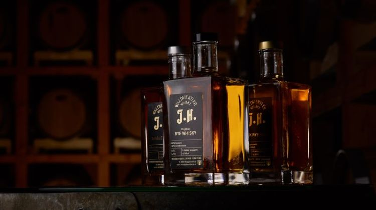 In die Jahre gekommen: Österreichischer Whisky aus dem Waldviertel der Destillerie Haider