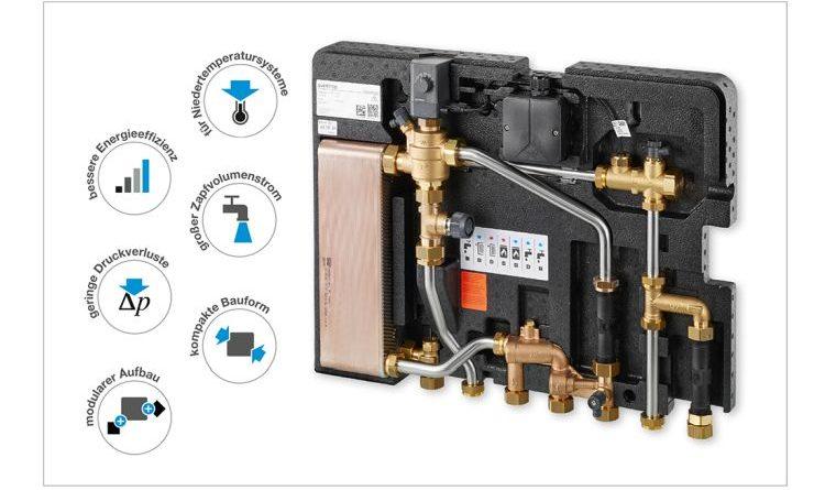 Hygienische Trinkwasser-  und effiziente Wärmeversorgung