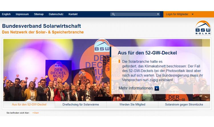Solarbranche und ihr Verband wachsen