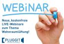Webinarreihe bei Pluggit wird fortgesetzt