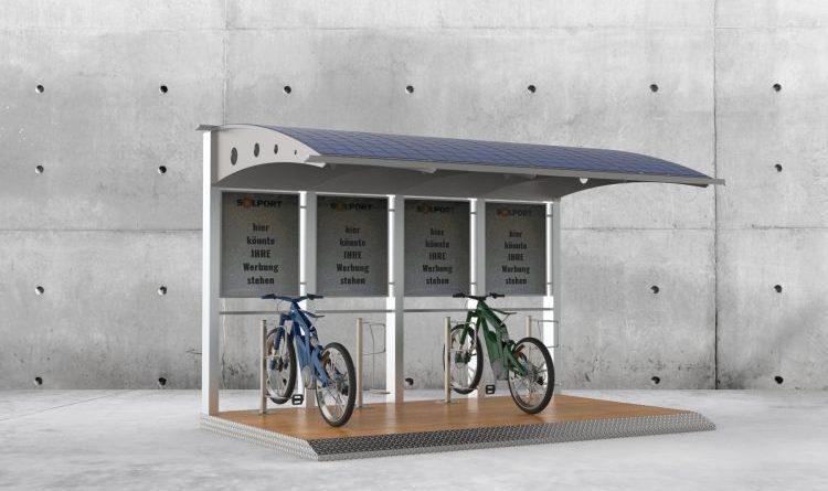 Die erste autarke & mobile Ladestation für E-Bikes & E-Roller