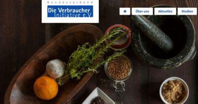 Nachhaltigkeit im Alltag - Die Verbraucher Initiative über nützliche Apps - Screenshot: DeinEnergieportal