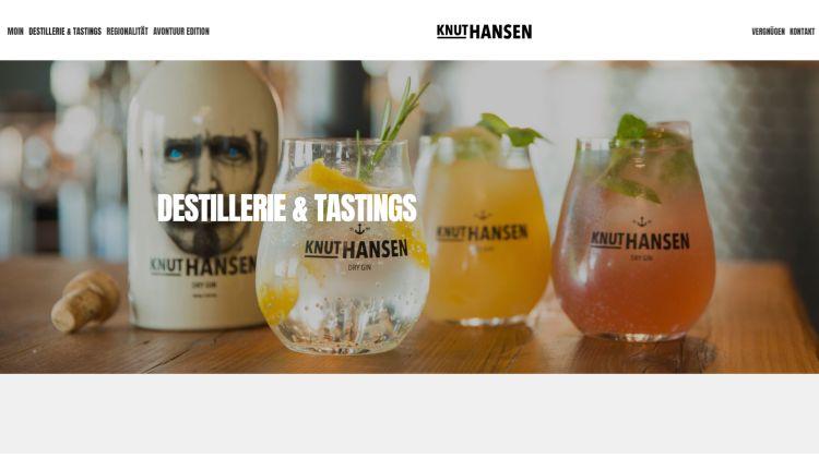 Knut Hansen – Dry Gin - Screenshot DeinEnergieportal