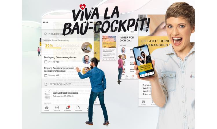 Die neue Living Haus App mach Bauherren mobil und unabhängig