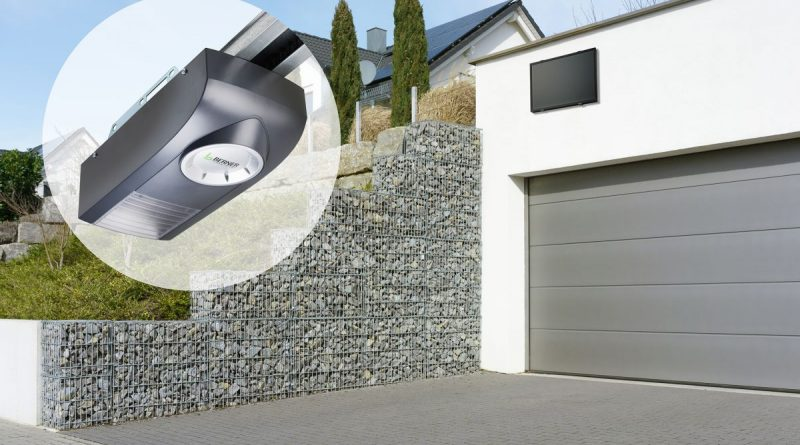 Solarantrieb für Garagentore