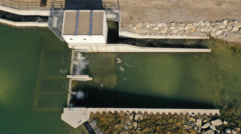 Das weltweit erste Schachtwasserkraftwerk in der Loisach