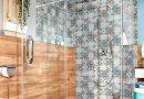 Dusche maßgeschneidert für besondere Grundrisse