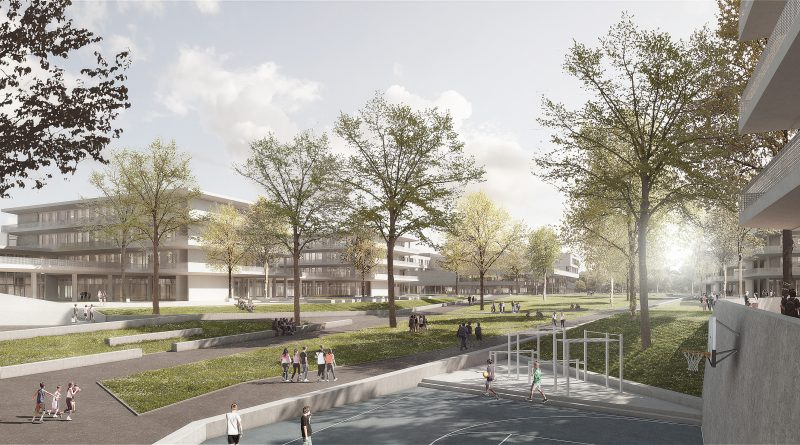 Systeme von Sanha kommen im Bildungscampus München zum Einsatz