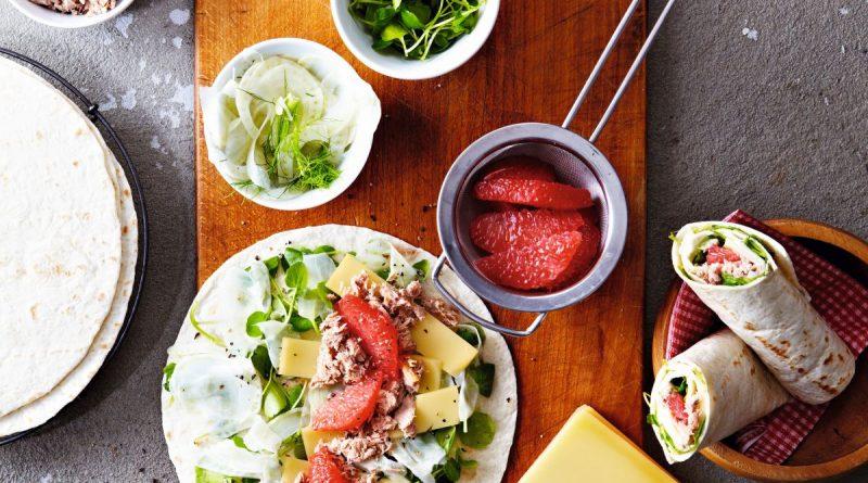 Thunfischwraps mit Schweizer Emmentaler AOP - Foto: Schweizer Käse