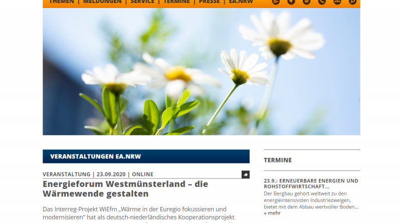 Online-Veranstaltung: Klimafreundliche Wärmeversorgung