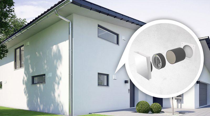 Fünf Fragen, die beim Planen einer Wohnraumlüftung wichtig sind