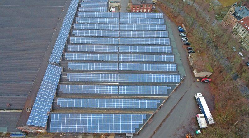 Alte Produktionsstätte wird zum Solarpark