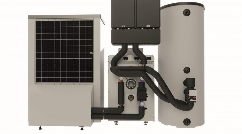 Kombination von Gas-Brennwertgerät und Wärmepumpe